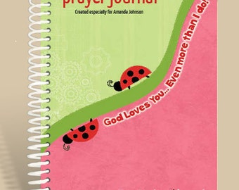 Prayer Journal Personalized - God's Love - John 3:16