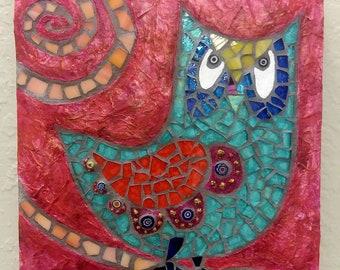 Little Turquoise Owl