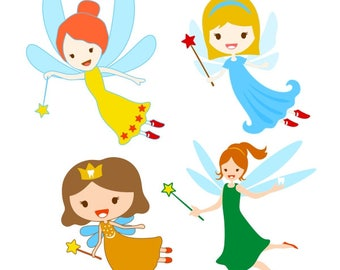 Tooth Fairy Cuttable Design PNG DXF SVG & eps File Silhouette Designs Cameo