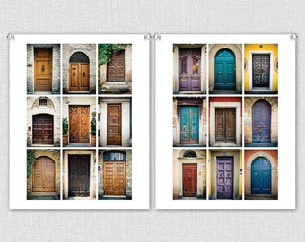 Doors of Europe: 8x10 Photography Fine Art Print Collection