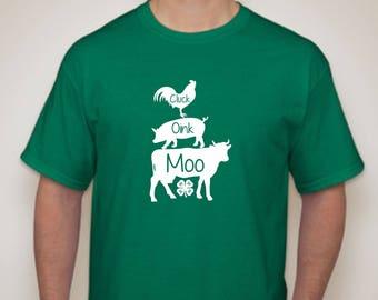 4H T-shirt- County Fair 4H T-shirt