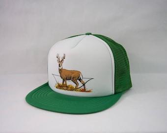 "Classic Trucker Cap | ""Deer and Bow"""