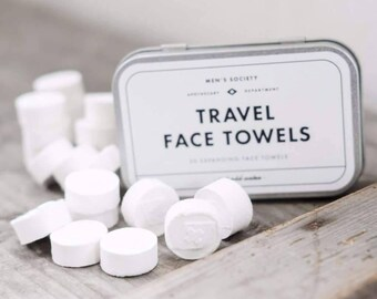 Expanding Travel Face Towels