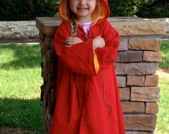 Wizard Inspired Child Gaming Robe Costume - Made to Order - Year 1-2 Style