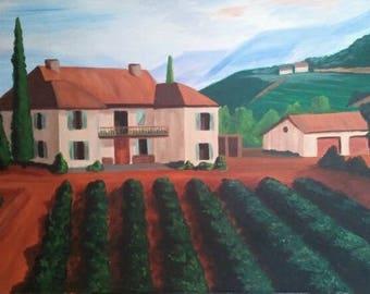 Personalized Paintings: landscape