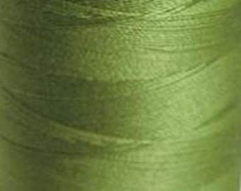 Cotton Sewing Thread  Crafting Quilting Mettler 135-549 Finish 40wt 457m/500yds Absinth Green