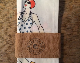 Beach Babes Pocket Square - Hankerchief - Made in USA