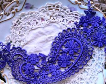 Long Purple Applique