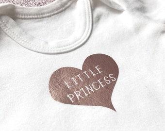 Heart Little Princess Babygrow