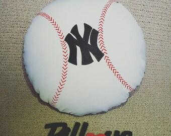 Baseball Pillow *Any Team*