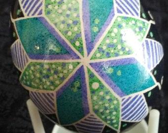 Handmade pysanky - Decorated easter eggs