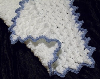 Crochet Blanket Unusual Stitch Pattern INSTANT DOWNLOAD PDF from Thomasina Cummings Designs
