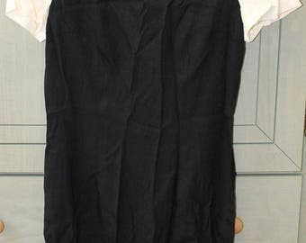 Vintage Black and White Dress