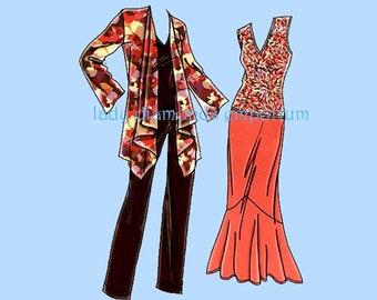 Simplicity 3894 Womens Jacket Over-Shirt Top Skirt Pants size 10 12 14 16 18 Petite to Plus Size Khaliah Ali Sewing Pattern Uncut FF