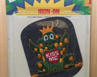 Vintage 70s Deadstock Frog prince patch