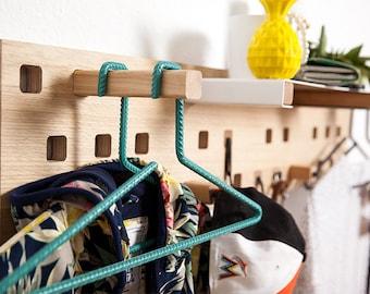 Kraft & Ulrich's Steeler-2 coat hangers