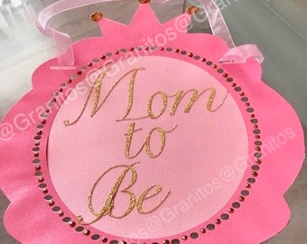 Mom to Be Sign for Baby Shower