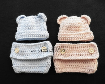 TWINS BABY BEANIES