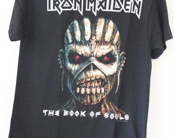 Iron Maiden Official Licensed t-shirts The book of souls Large