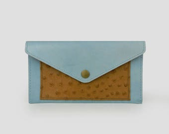 Leather Wallet, small clutch wallet