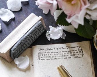 Personalised Journal Stamp