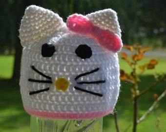 Girl Kitty Hat - Ready to Ship