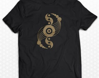 Crop Circle Sacred Geometry Tshirt