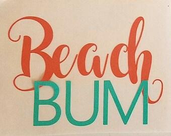 Free Shipping Beach Bum Monogram