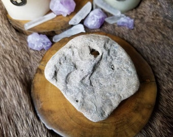 Hag Stone - Natural Holey Rock - Carved by Nature