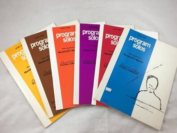Piano Lesson Book Series New Condition Program Solos 6