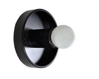 MASON - Black Modern Wall Sconce - Ceiling Light, UL Listed, Accent Lighting, Minimalist Light