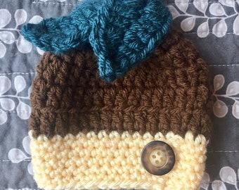 Baby Acorn Hat