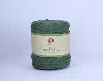 """T-Shirt Yarn -""""Algae""""  ~160 yards, 130 m"""