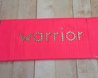 Breast Cancer Survivor Duct Tape Wallet Breast Cancer WARRIOR PINK Duct Tape Wallet