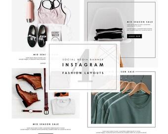 4 Social Media Banner - Fashion