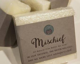 Mischief All Natural Shea Butter Bar Soap