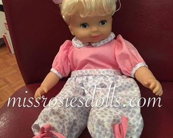 Vintage 1993 Play Doll By Unimax 13""