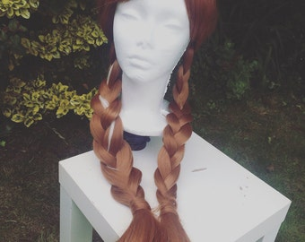 Anna Inspired Travelling Wig