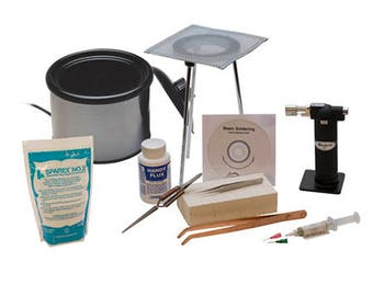 BASIC SOLDERING KIT with Pickle Pot and DvD