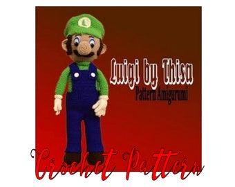 Tutorial crochet Luigi