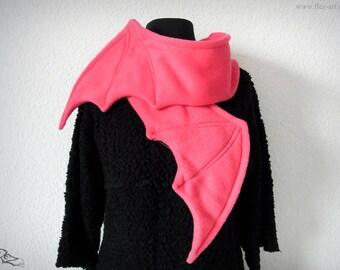 Scarf - Batwings *hot-pink