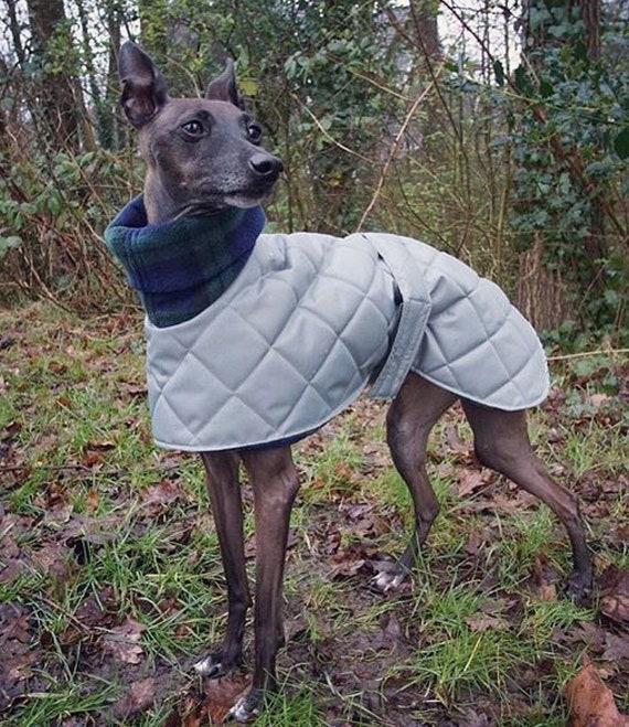 "Waterproof whippet coat readymade 17"" long"
