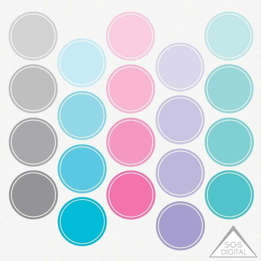 Pastell Kreis Rahmen PNG Kreis Rahmen Clipart Frames Rosa
