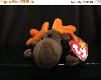"ON SALE 1993 Rare Original ""Chocolate"" Beanie Baby"