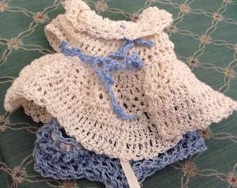 Crocheted Baby Doll Dress