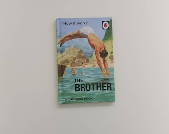 Brother Notebook - Handmade from a Ladybird book - planner - bullet journal - diary