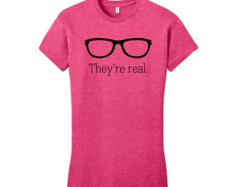 Funny T-Shirt Funny Shirts for Women Funny Shirts for Men Glasses Shirt Nerdy Shirts for Her Nerd Glasses Nerd Shirt Sarcasm Message Shirts