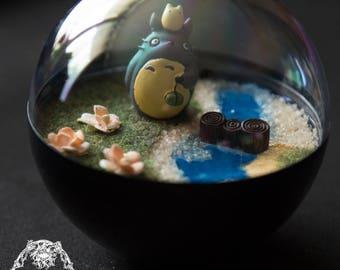 Terrarium Miyazaki - My Neighbor Totoro - diameter 12cm