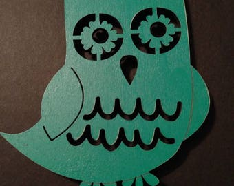 Whimisical Owl magnet