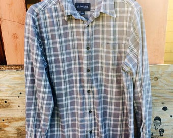 St. Johns Bay Gray Flannel Size Large